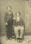 Sam and Hans Evenson, ca 1872