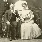 Anna Evenson/Alfred Erickson 1907