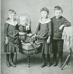 Jennie, Emil, Ida, & Henry youngsters circa 1889