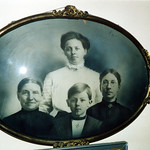 Ida Arenson, Guri Disrud, Walter Arenson, Ingri Evenson ca 1908