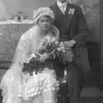 Mabel Evenson/Julius Huset 1916