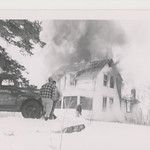 Walker Farm Burning, April, 1962