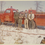Walker Farm, April, 1962 - Volunteer Fire Truck