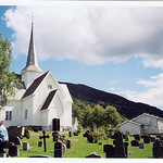 Aurdal Church - Disrud Outside